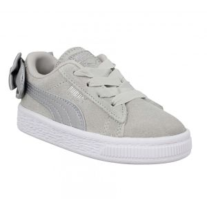 Puma Suede Bow AC PS, Sneakers Basses Fille, Gris (Gray Violet-Gray Violet 06), 32 EU