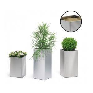 Blomus Bac à plantes GREENS colonne Inox