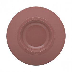 Guy Degrenne Assiette à pâte grand bassin 26cm rose sable - A l'unité - Bahia
