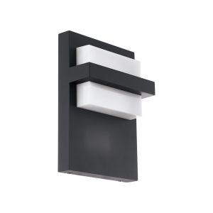 Eglo Lampe murale LED d'extérieur Culpina 10 W Noir