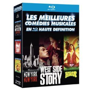 Coffret New-York, New-York + West Side Story + Hair