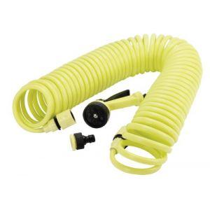 Greengers Tuyau d'arrosage - Spirale - Raccord automatique - 15M