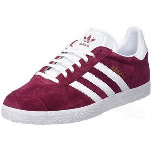 Adidas Gazelle, Chaussures de Fitness Homme, Rouge (Buruni/Ftwbla/Dormet 000), 44 2/3 EU