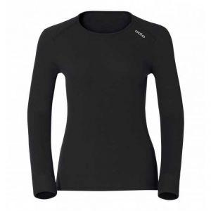 Odlo Originals Warm T-Shirt chaud col rond manches longues femme Noir Taille Fabricant : XS