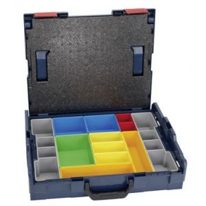 Bosch Coffret L-Boxx 102 avec compartiments couleurs 12 pièces 1600A001S3