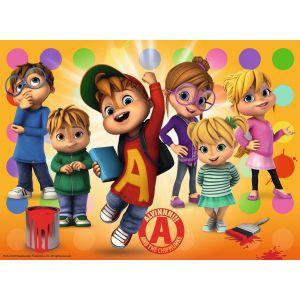 Ravensburger Pièces XXL - Alvin et les Chipmunks