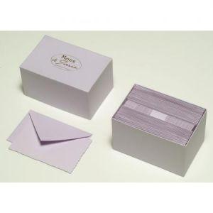 G. Lalo 30 cartes de correspondance avec enveloppes (97 x 152 mm)