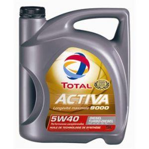 Total Huile moteur Activa 9000 5W40 Diesel 5 L