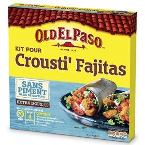 Old el paso Kit pour crousti fajitas sans piment - Le kit de 521g