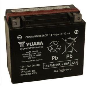 Yuasa Batterie moto YTX20L-BS 12V 18.9AH 270A