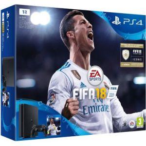 Sony PS4 500 Go Noire + FIFA 18