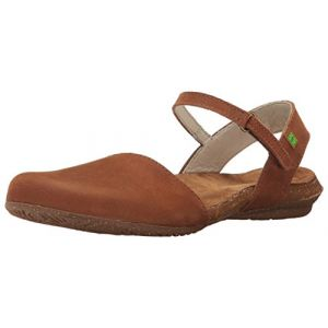 El Naturalista S.A N412 Pleasant Wakataua, Closed-Toe Femme, Marron (Wood), 37 EU