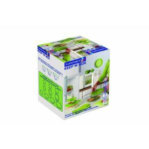 Luminarc 3 boîtes Keep'n Box en verre avec couvercle (38,5 cl + 82 cl + 122 cl)