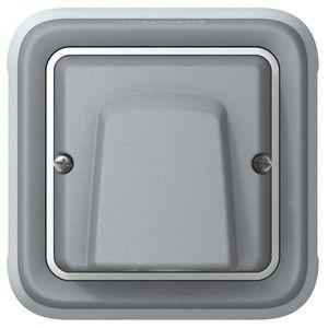 Legrand Sortie de câble complet encastré Plexo LEG 069848 gris