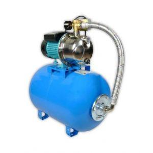 Omni Pompe d'arrosage POMPE DE JARDIN pour puits 1100 W 60l/min avec ballon surpresseur 24L