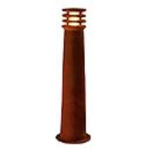 SLV 229021 - Borne extérieure Rusty 70 cm en fonte rouillée