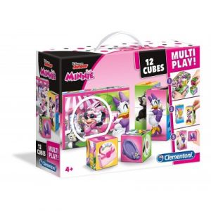 Clementoni Minnie Cubes 12 pièces multi play