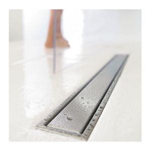 Wirquin Sol de la salle de douche wetroom linéaire égoutter en acier inoxydable 1000mm