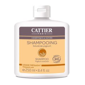 Cattier Soluté de Yogourt - Shampoing Bio