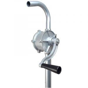 Pompe à manivelle Vide Fût en Aluminium Transvasement Gasoil Fioul Huile Diesel