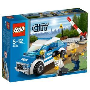 Lego 4436 - City : La voiture de patrouille en forêt