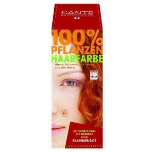Sante Naturkosmetik Coloration capillaire végétaleRouge Flamme