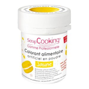 Scrapcooking Colorant artificiel en poudre jaune