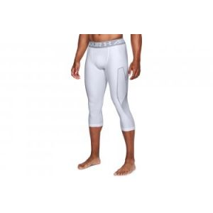 Under Armour Under Armour HG Armour Graphic 3/4 Legging Homme, Blanc, S