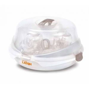 Munchkin 011740 - Stérilisateur pour micro-ondes Latch et kit biberons