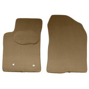 Norauto 2 tapis voiture sur mesure beiges en moquette PREMIUM