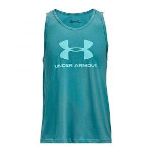 Under Armour Débardeur UA Sportstyle Logo pour homme Blue - Taille LG