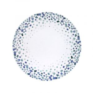 Medard de noblat Lolly Pop - Coffret 6 assiettes dessert Noir