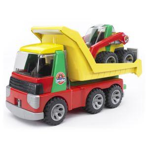 Bruder Toys 20070 - Camion benne et son Buldozer