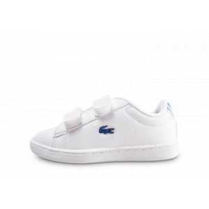 Lacoste Chaussures enfant Carnaby Evo hee Bébé blanc - Taille 21,22,23,24,25,26,27