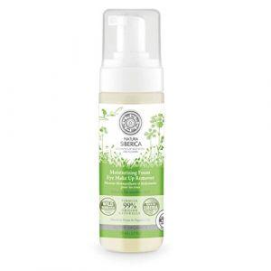 Natura Siberica Mousse nettoyante hydratante pour le contour des yeux - 170 ml