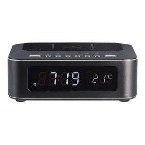 Thomson CR400iBT - Radio-réveil noir avec chargeur à induction