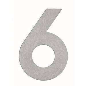 Albert Leuchten Numéro de maison 6- en inox
