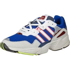 Adidas Yung 96 chaussures blanc bleu rouge T. 41 1/3