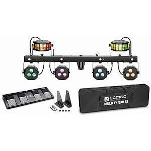 Cameo MULTI FX BAR EZ – Système d'éclairage avec 3 effets lumineux pour les DJs et bandes mobiles