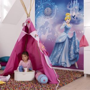 papier peint princesse disney comparer 172 offres. Black Bedroom Furniture Sets. Home Design Ideas