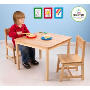 KidKraft Ensemble table et 2 chaises aspen