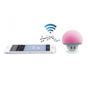 Clip Sonic TES141R Mini Haut-parleur compatible Bluetooth Rose