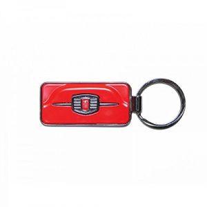 Fiat 500 Etui Porte-clés, Rouge (Rouge) - FIKR41