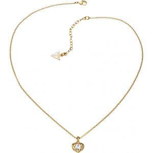 Guess Ubn51420 - Collier et pendentif en métal doré pour femme