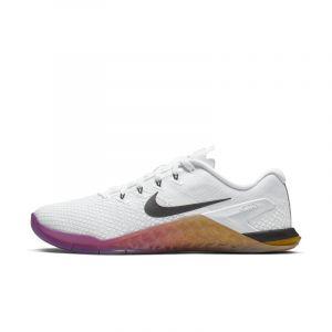 Nike Chaussure de cross-training et de renforcement musculaire Metcon 4 XD Femme - Blanc - Taille 40