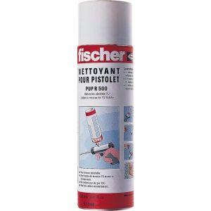 Fischer Nettoyant pour mousse polyuréthane et pistolet - PUP R 500 - aérosol de 500 ml