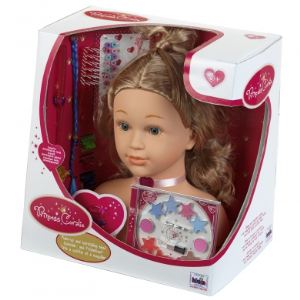Klein Tête à coiffer et à maquiller Princess Coralie (33 cm)