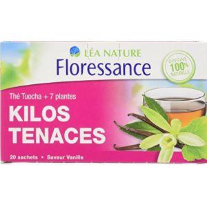 Floressance Kilos Tenaces - Thé Tuocha + 7 plantes, 20 sachets