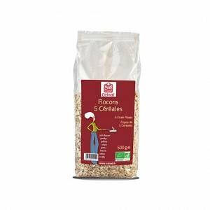Saint Algue Flocons 5 céréales CELNAT 500 g