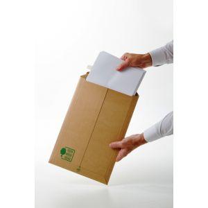 Gpv 38820 - Pochette Pack'n Post 229x310x50, 330 g/m², coloris brun - 5 unités
